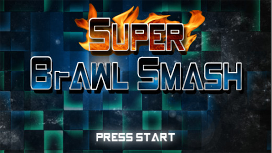 Super Brawl Smash - Platformer Screenshot
