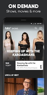 Free fuboTV Watch Live Sports Apk Download, NEW 2021* 3