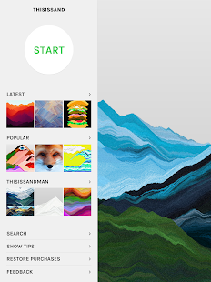 Thisissand - Art, Creativity & Relaxation Screenshot