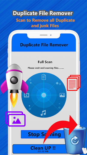 Duplicate file remover & all Media cleaner 1.2 screenshots 5