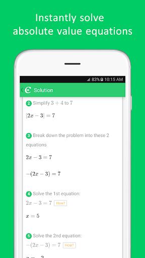 Cymath - Math Problem Solver  Screenshots 6