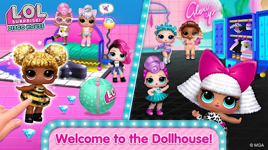 Free L.O.L. Surprise! Disco House – Collect Cute Dolls Apk Download 2021 1