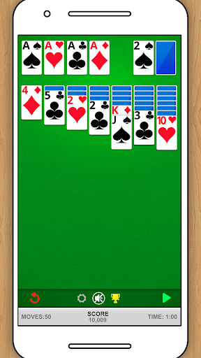 SOLITAIRE CLASSIC CARD GAME 1.5.15 screenshots 1