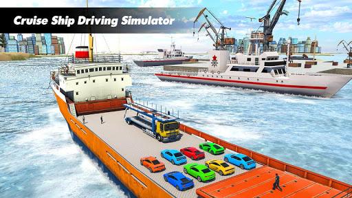 Car Transport Truck Games : Cruise Ship Simulator 1.0.9 Screenshots 13