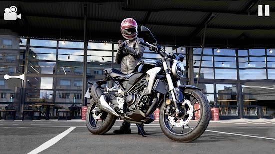 Highway Bike Riding Simulator 1.5 screenshots 2