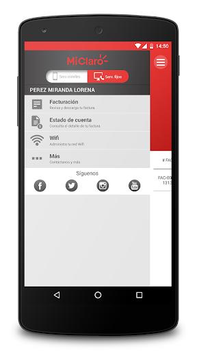 Mi Claro Ecuador 4.2.3 Screenshots 4