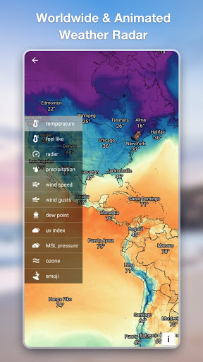 Weather Forecast - Accurate Local Weather & Widget 1.0.9 screenshots 6