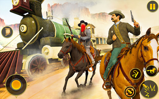 Cowboy Horse Riding Simulation : Gun of wild west 4.2 screenshots 12