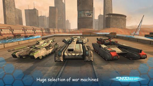 Future Tanks: Action Army Tank Games screenshots 2