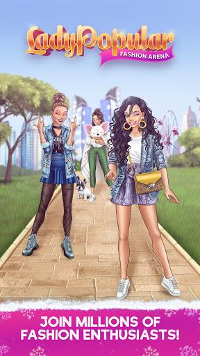 Lady Popular: Fashion Arena Latest screenshots 1