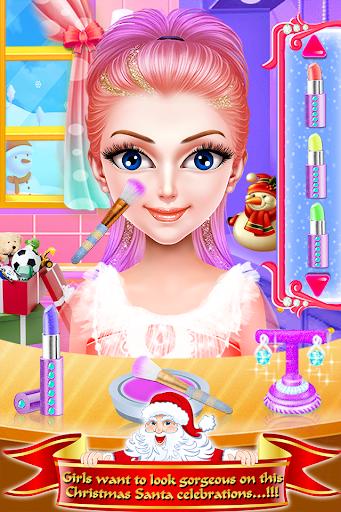 Christmas Girls Makeup & Hair Salon DressUp Games 1.0.18 screenshots 3