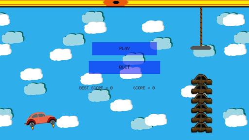 Flappy Car u0130n Graveyard - Free Game  screenshots 3