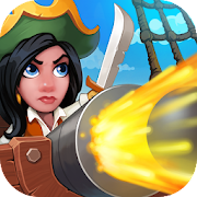 Pirate Bay - action pirate shooter. Aim and shoot
