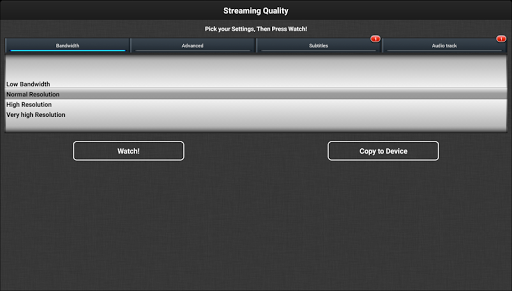 VLC Streamer Free 2.47 (3533) Screenshots 10