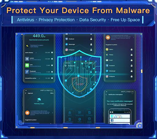 Nox Security - Antivirus Master, Clean Virus, Free apktram screenshots 1