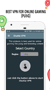 VPN : Shuttle VPN, Free VPN, Unlimited, Secure VPN Screenshot