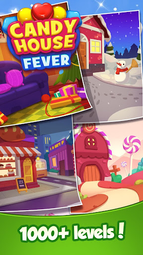 Candy House Fever - 2020 free match game 1.1.6 screenshots 5