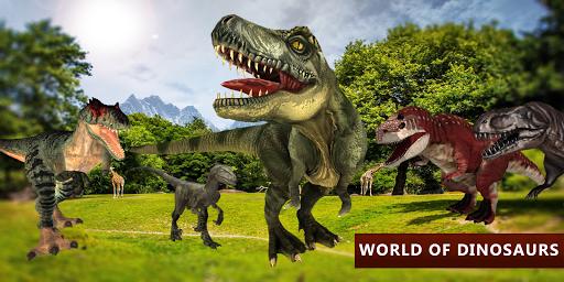 Dinosaur Simulator City Attack apkpoly screenshots 7