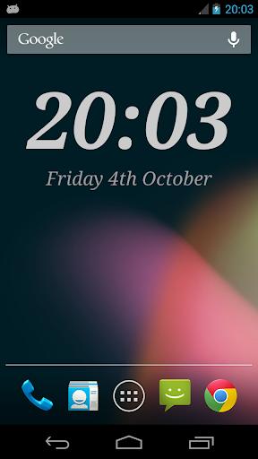 DIGI Clock Widget 2.3.1 screenshots 1