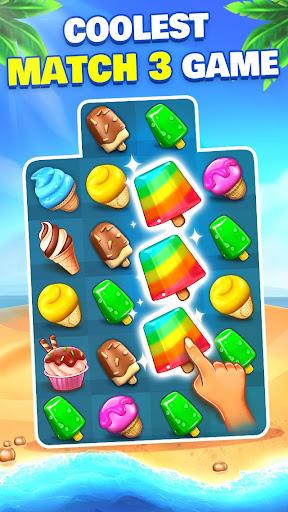 Ice Cream Paradise - Match 3 Puzzle Adventure filehippodl screenshot 1