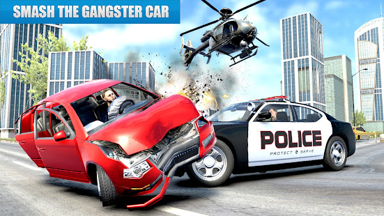 US Police Car driving Chase 3D  Screenshots 10