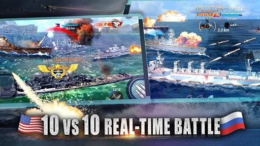 Warship Rising - 10 vs 10 Real-Time Esport Battle 5.7.2 screenshots 2