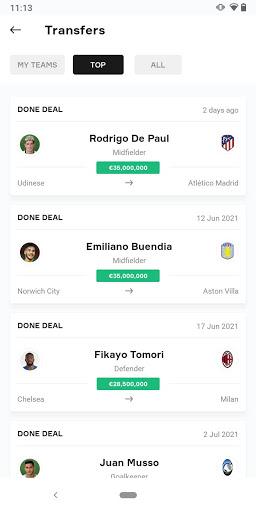 OneFootball - Soccer News, Scores & Stats  screenshots 7