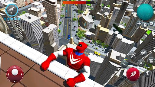 Miami Robot Spider Hero: City Gangster Games 2021 screenshots 8