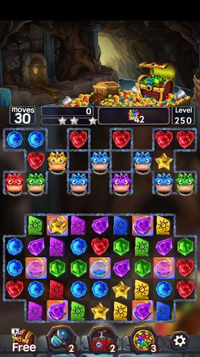 Jewel Mine Quest: Match-3 puzzle 1.1.7 screenshots 7