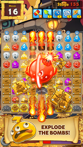 MonsterBusters: Match 3 Puzzle  screenshots 6