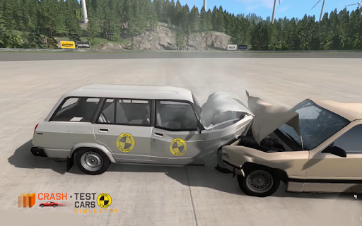 Car Crash Test VAZ 2104 screenshot 9