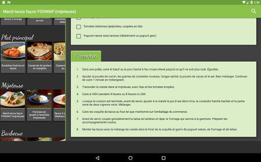 Fodmap sans compromis (Gratuit) screenshot 5