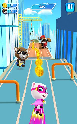 Talking Tom Hero Dash - Run Game APK MOD – ressources Illimitées (Astuce) screenshots hack proof 1