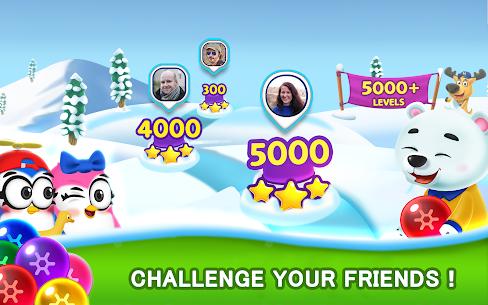 Bubble Shooter MOD APK- Frozen Pop (Unlimited Lives) Download 3
