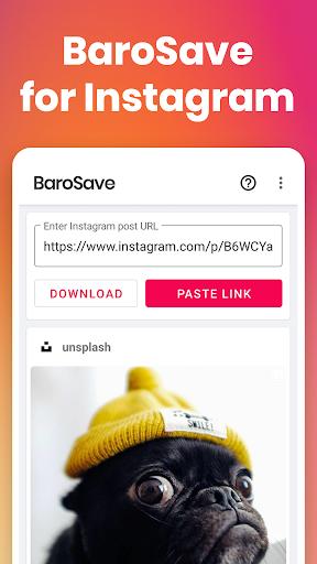 Video Downloader for Instagram: BaroSave, Repost 1.7.2 Screenshots 1