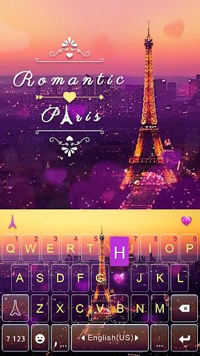 romanticpairs keyboard theme screenshot 1
