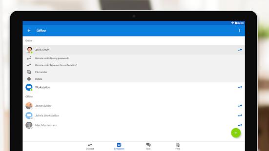 TeamViewer für Fernsteuerung Screenshot