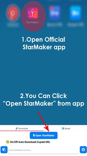 Sing Downloader for Starmaker  Screenshots 1