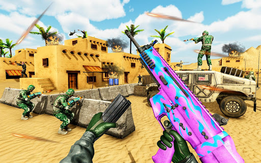 FPS Shooter Games 2020:New Counter Terrorist Game goodtube screenshots 21