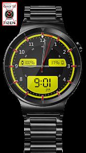 Chrome LED HD Watch Face Widget & Live Wallpaper