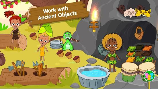 My Dinosaur Town - Jurassic Caveman Games for Kids 3.3 Screenshots 14