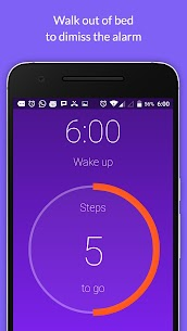 Walk Me Up! Alarm Clock 4.0.6 Apk 1