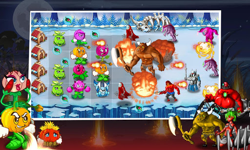 angry plants temple screenshot 1