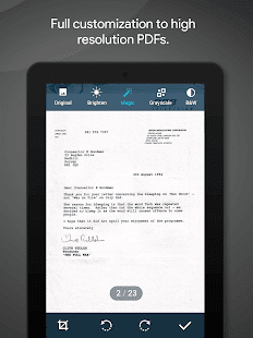 Quick PDF Scanner + OCR Pro Screenshot