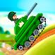 Tankhalla: アドベンチャーアーケードゲーム.戦闘ゲーム&タンク