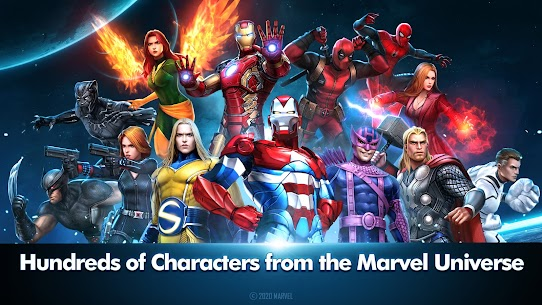 Marvel Future Fight Mod APK (Unlimited Gold & Crystals) 1