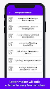 Letter Templates Offline – Letter Writing App MOD APK 4