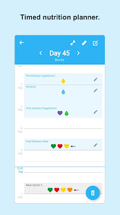 80 Day Mayday - Timed Nutrition Planner & Tracker