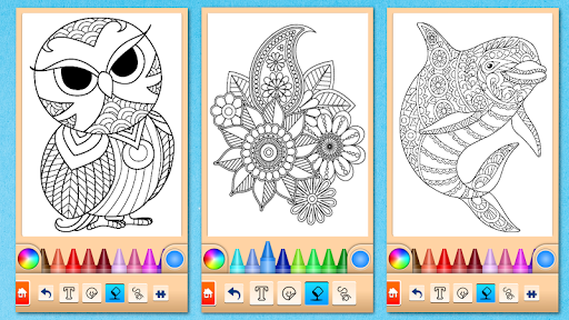 Mandala Coloring Pages 15.2.0 screenshots 20