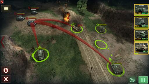 Armor Age: Tank Wars u2014 WW2 Platoon Battle Tactics 1.13.301 screenshots 7